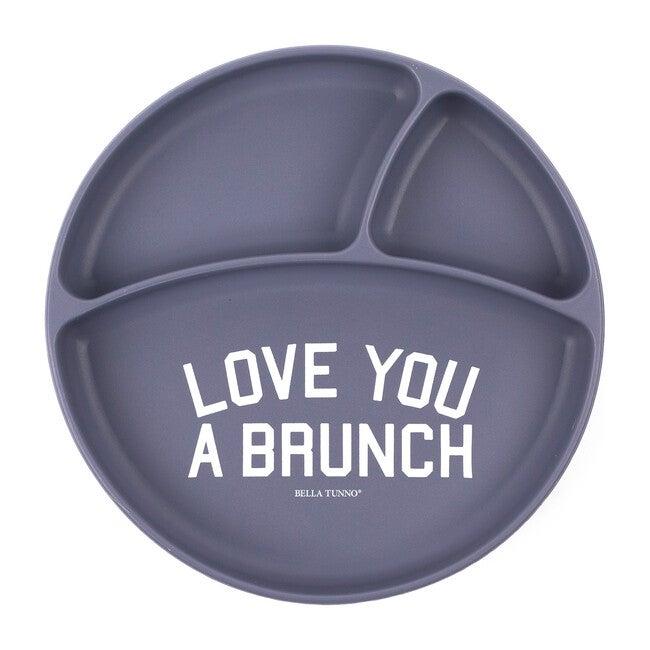 Love Brunch Wonder Plate, Purple