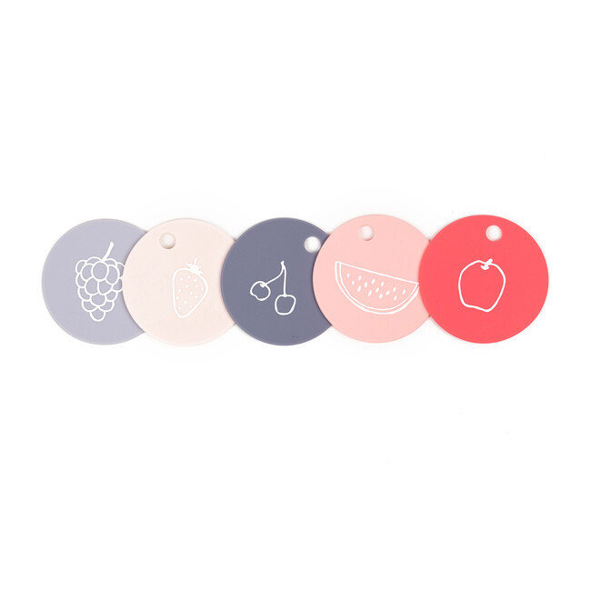 Fruit for Thought Teething Flashcards, Multi