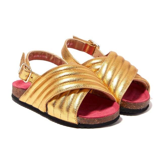 Billie Jean Sandal, Gold