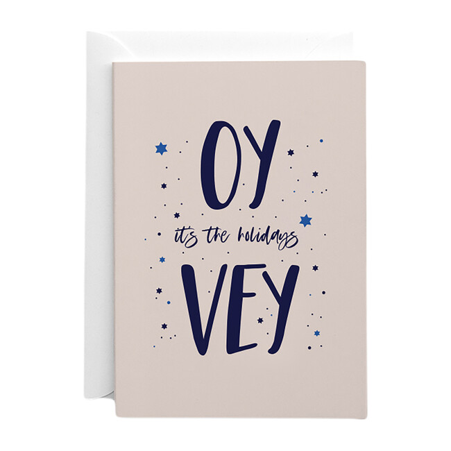 Set of 10 Oy Vey it's the Holidays Cardss, Pink