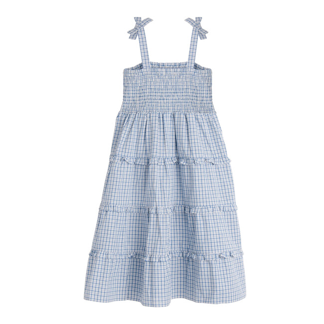 Brianna Dress, Blue Check
