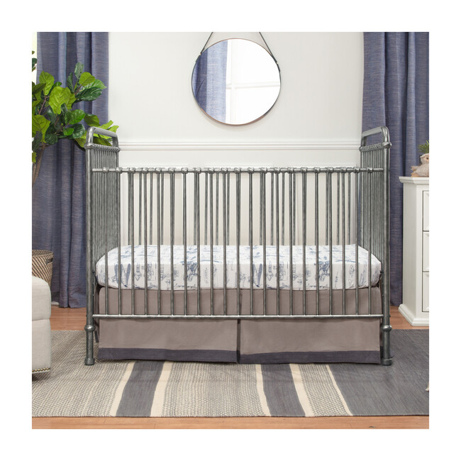 Abigail 3-in-1 Convertible Crib, Vintage Silver