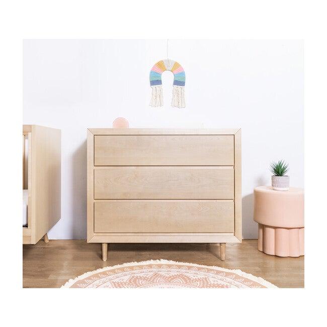 Nifty 3-Drawer Dresser, Natural Birch