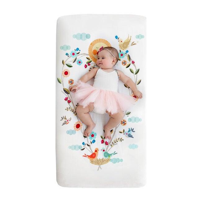 Love Blooms Standard Crib Sheet