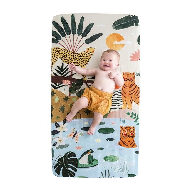 In The Jungle Standard Crib Sheet