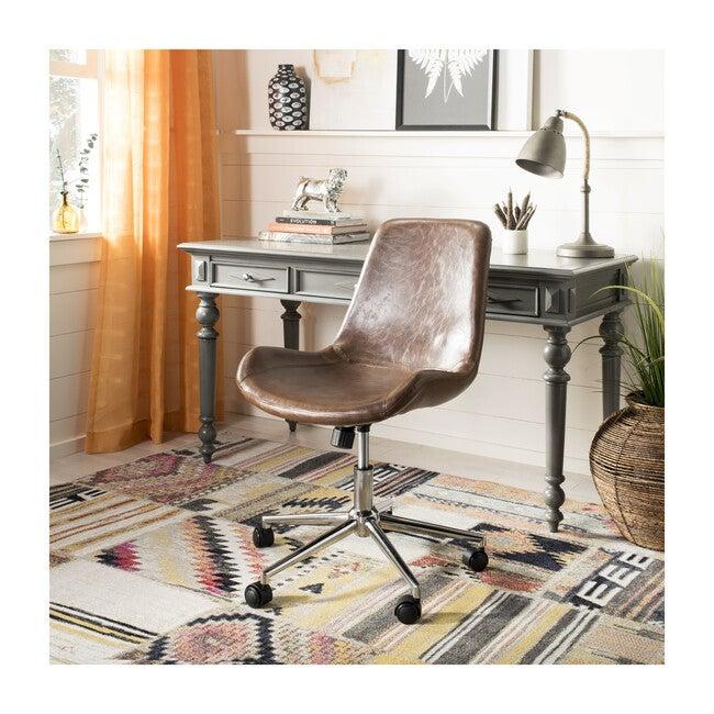 Fletcher Swivel Office Chair, Brown