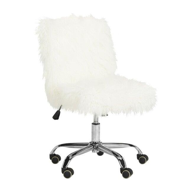 Whitney Swivel Desk Chair, White