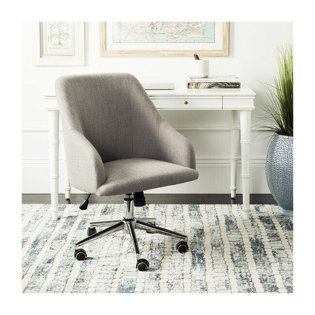 Adrienne Swivel Office Chair, Grey