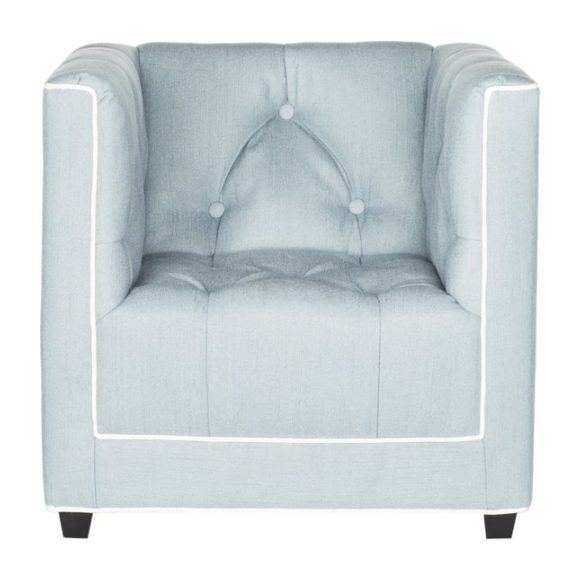 Tufted Mini Club Chair, Blue - Accent Seating - 1