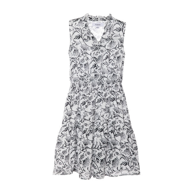 Sienna Dress, Black and White boho