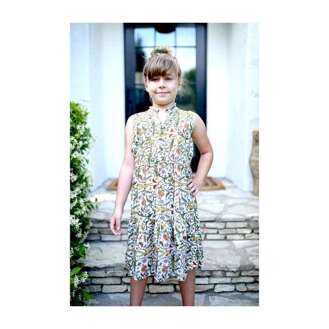 Kids Sienna Dress, Forest