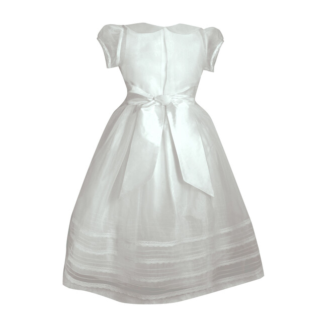Surprise Two In One Dress, White