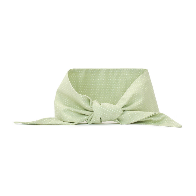 Necktie, Mint Polkadot