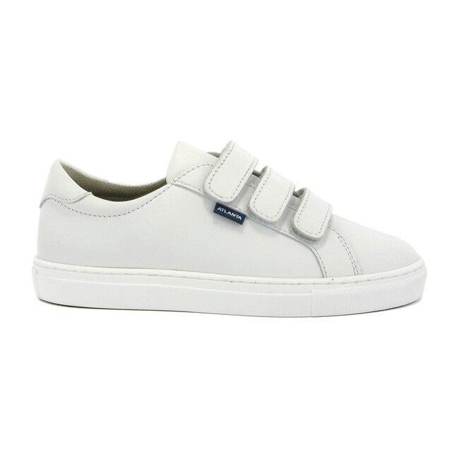 Three Straps Sneaker, White