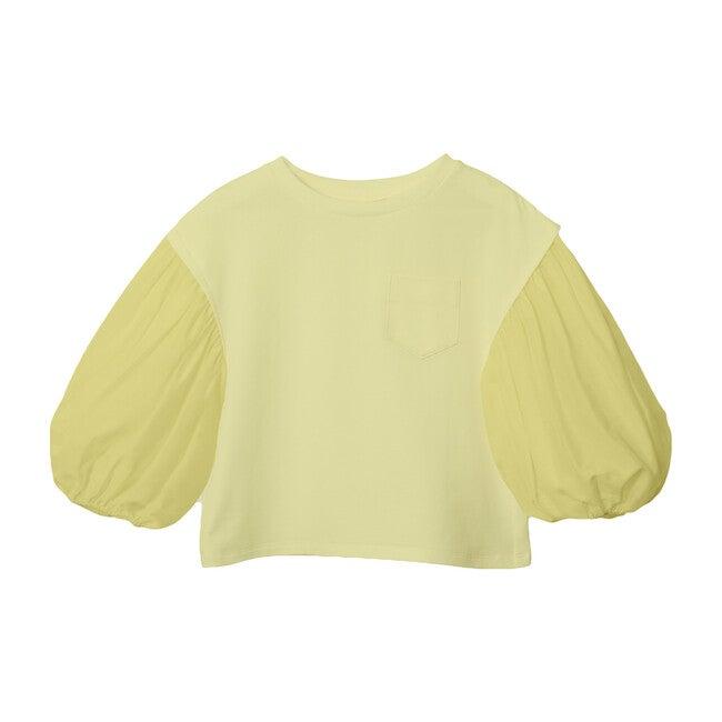 Rosa Balloon Mid Sleeve Shirt, Butter