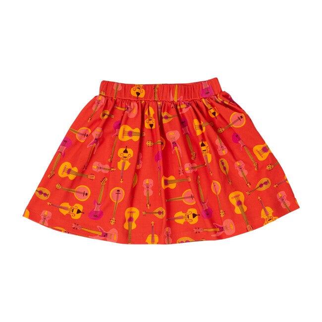 Printed Banded Skirt, Music