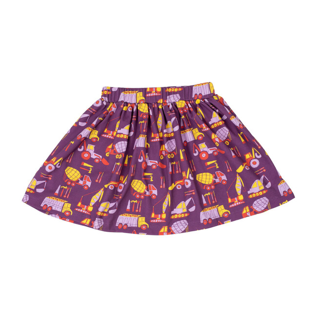 Printed Banded Skirt, Construction
