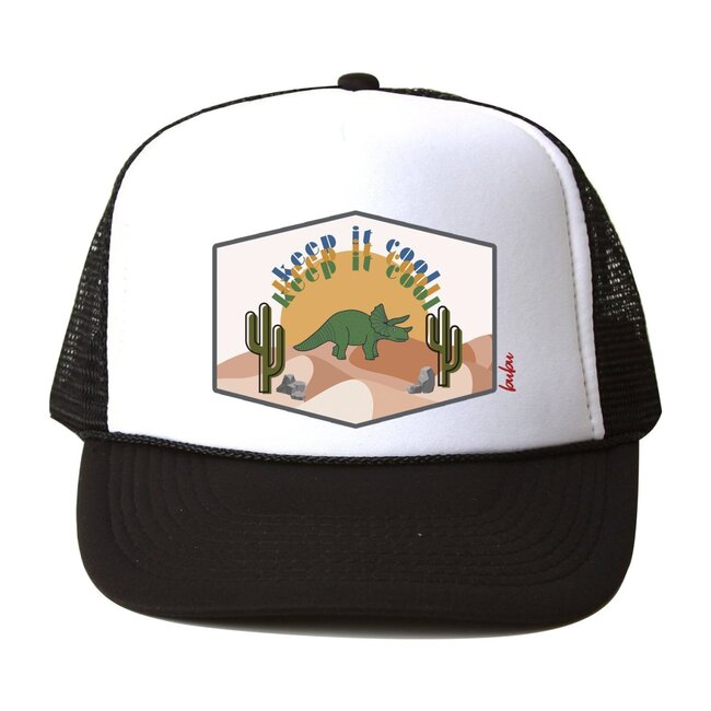Keept It Cool Hat, Black and White
