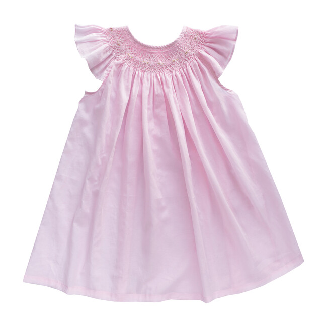 Alba Embroidered Dress, Pink