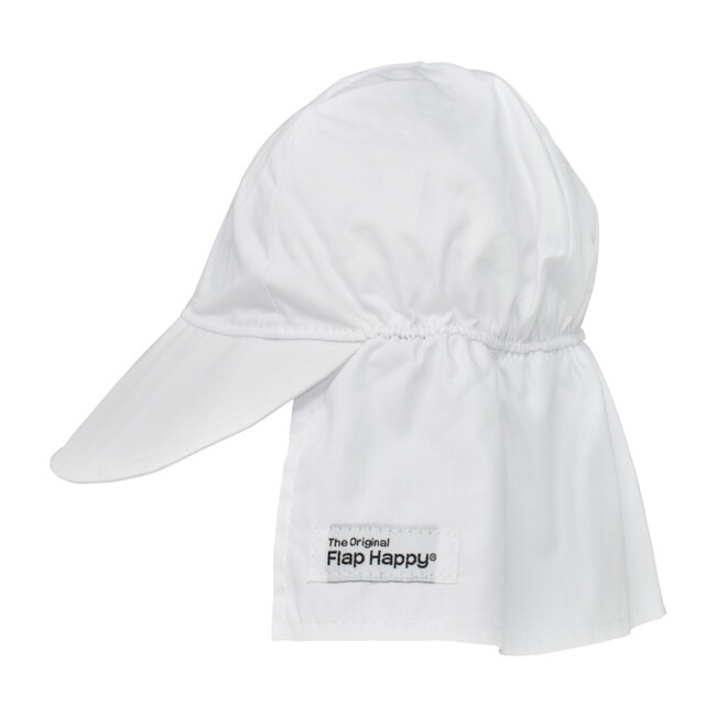 UPF 50+ Original Flap hat, White - Hats - 1