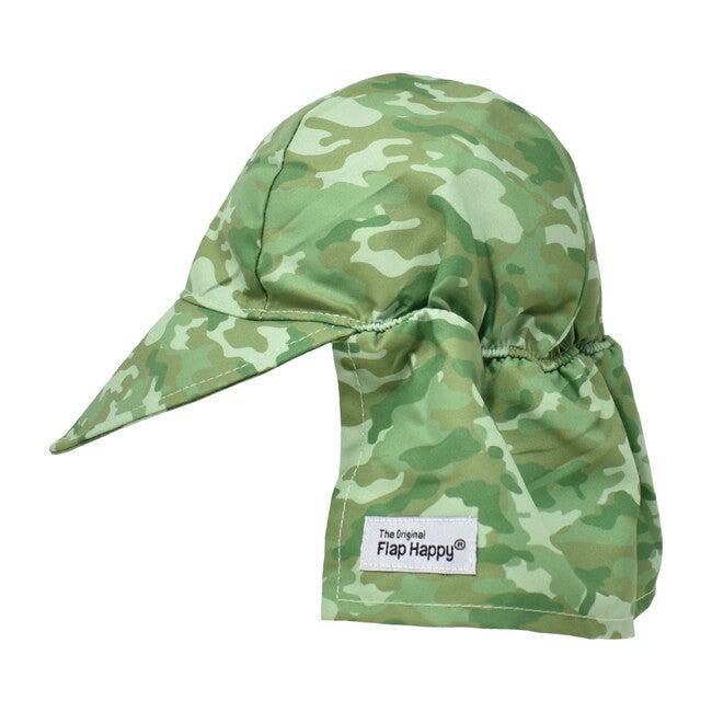 UPF 50+ Original Flap hat, Green Camo