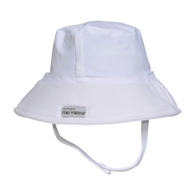 UPF 50+ Fun in the Sun Hat, White - Hats - 1