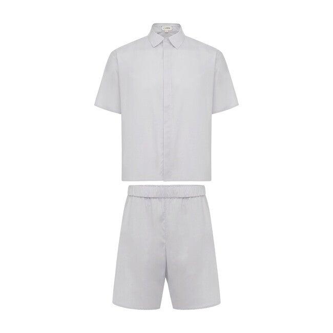 Men's Nelson Pajama Set, Lunar Rock