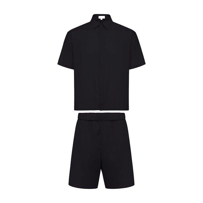 Men's Nelson Pajama Set, Onyx
