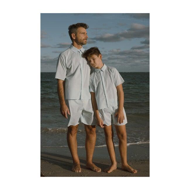 Men's Nelson Pajama Set, Starlight Blue