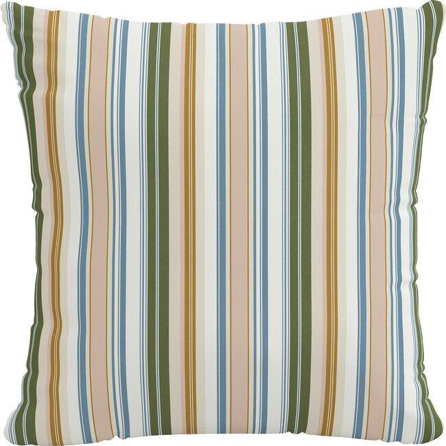 Indoor/Outdoor Decorative Pillow, Serape Stripe Beach
