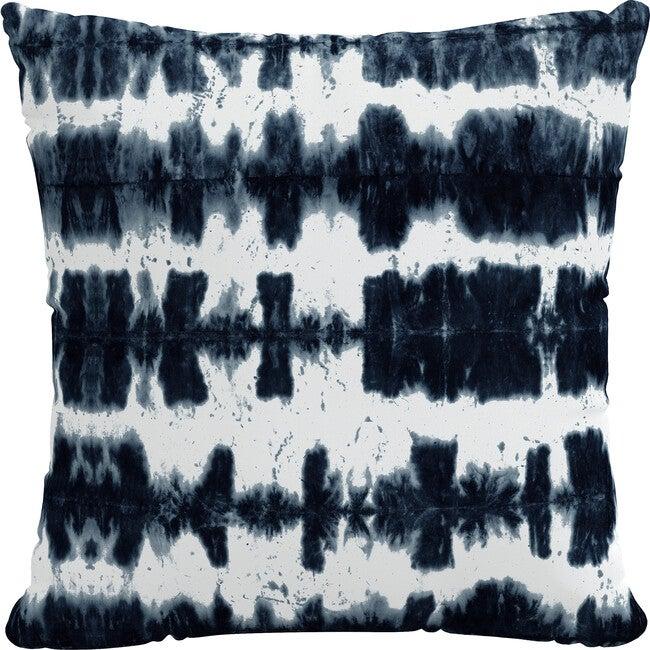 Indoor/Outdoor Decorative Pillow, Obu Stripe Navy