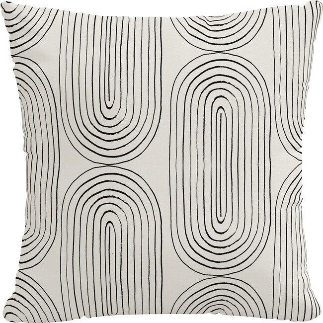Indoor/Outdoor Decorative Pillow, Oblong Ink