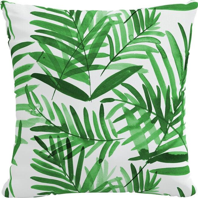 Indoor/Outdoor Decorative Pillow, Cali Palm Green