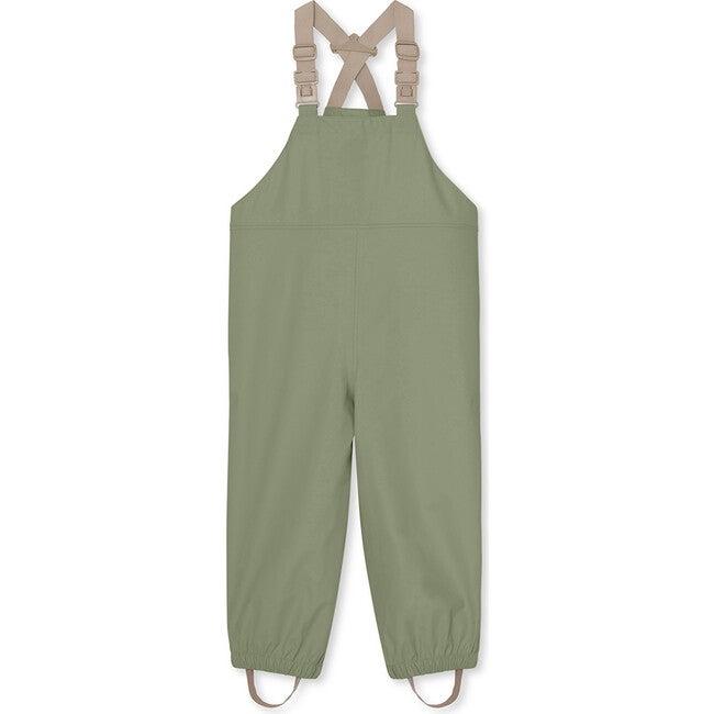 Recycled Rubi Rain Pants, Oil Green