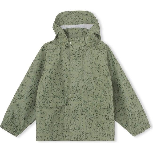 Recycled Julien Rain Jacket, Oil Green