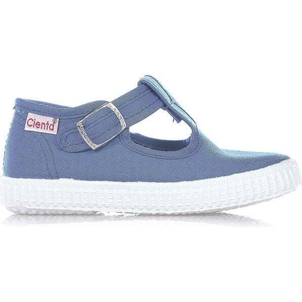 Blue Canvas Sneaker