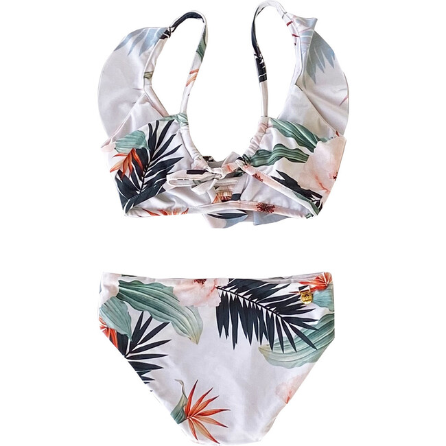 Day Dream Balearic Two Piece Swimsuit, White