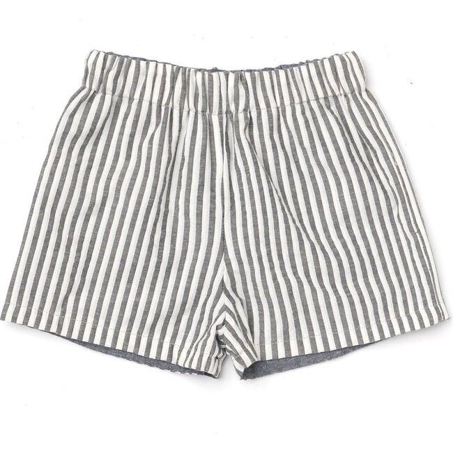Reversible Chevy Shorts, Black Stripe