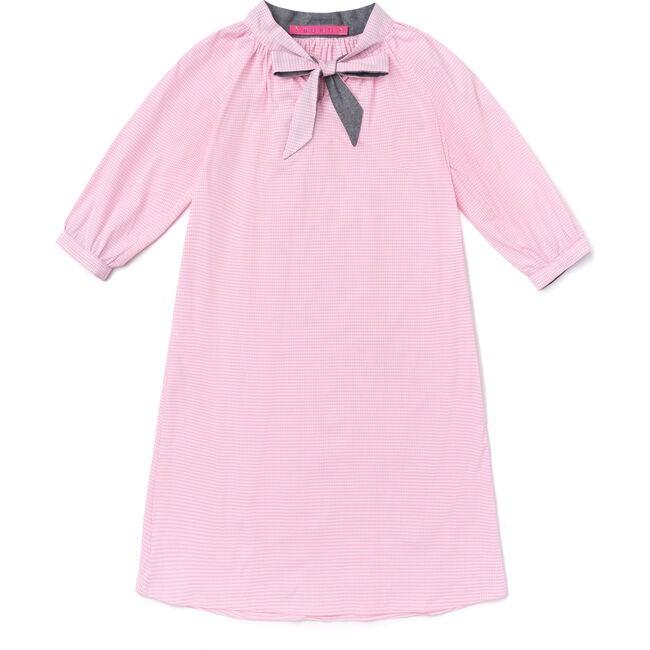 Pink Gingham Dress