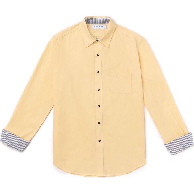 Men's Shirt, Yellow