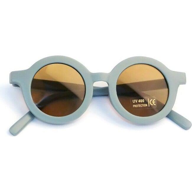 Round Retro Sunglasses, Sky Blue