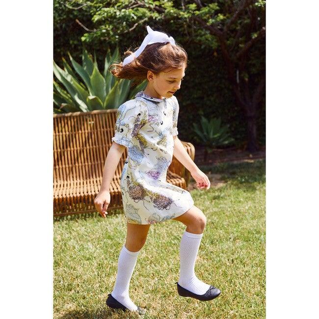 Peter Pan Collar Dress, Dancing Girls