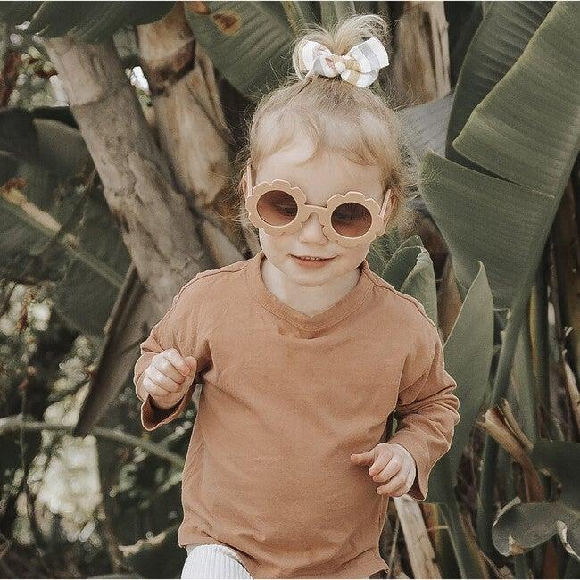 Flower Sunglasses, Nude