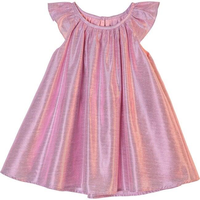 Harper Dress, Pink Lame