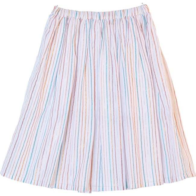 Mary Skirt, Rainbow Stripe