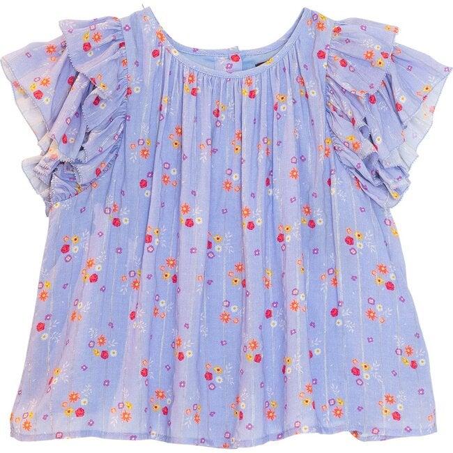 Edie Top, Floral Ditsy
