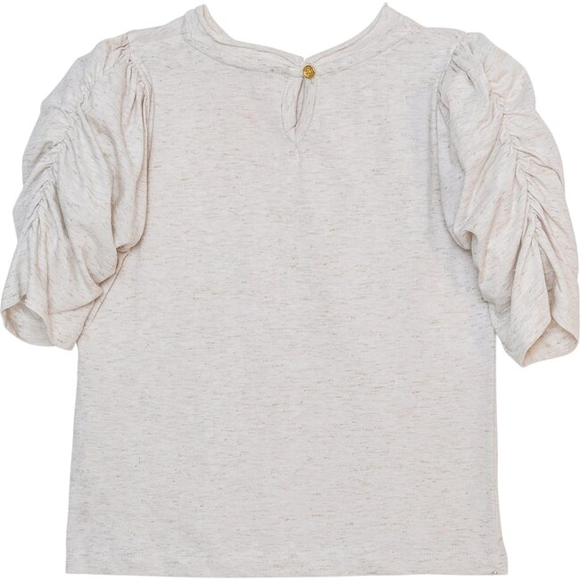 Dionne Top, Off White Sparkle