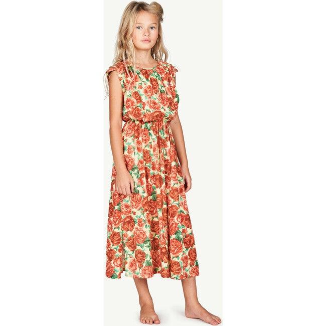 Marten Dress, Soft Yellow Flowers