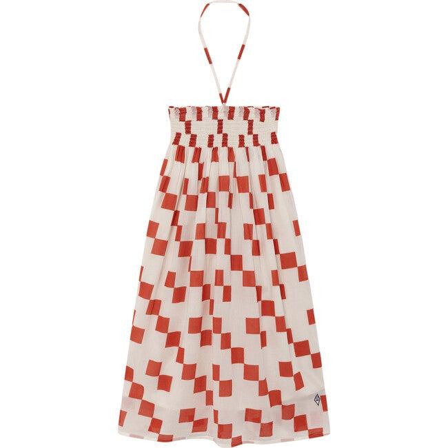 Crab Dress, Red Squares