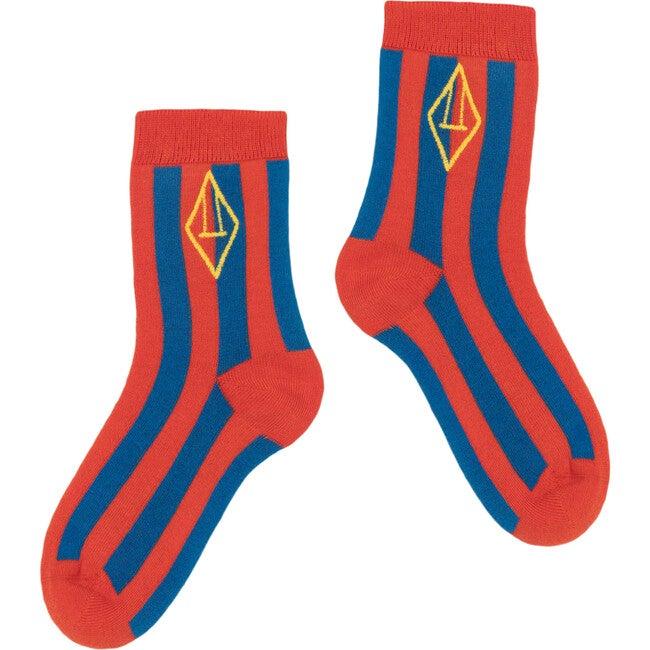 Skunk Socks, Red Logo